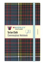 Commonplace notebook Anderson tartan (large) | auteur onbekend | 9781849345149