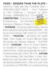 Food: eating tomorrow | May Rosenthal ; Catherine Flood |