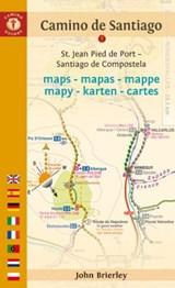 Camino De Santiago Maps | John (john Brierley) Brierley |