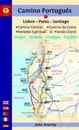 Camino Portugues Maps | John (john Brierley) Brierley |