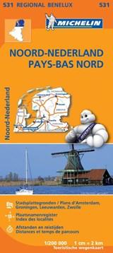 531 Noord-Nederland - Pays-Bas Nord | Michelin | 9782067183360