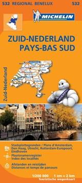 532 Zuid-Nederland - Pays-Bas Sud | Michelin | 9782067183407