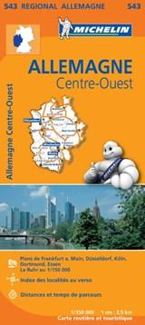 543 Allemagne Centre-Ouest - Midden-West Duitsland | Michelin |