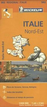 562 Italie Nord-Est - Noordoost-Italië | auteur onbekend | 9782067183957