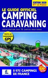 Camping caravaning 2020 Frankrijk - Le guide officiel - campinggids Frankrijk | auteur onbekend |