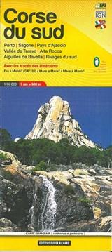 Libris Wanderkarte 09. Corse du sud (GR20) - Porto - Sagone - Pays d'Ajaccio - Vallée de Taravo - Alta Rocca - Aiguilles De Bavella - Rivages du sud. 1 : 60 000 | auteur onbekend |