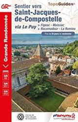 Sentier Saint-Jacques-de-Compostelle- Figeac-Moissac GR65/651/652 | auteur onbekend | 9782751410680