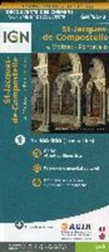St-Jacques de Compostelle. Moissac-Roncevaux. Découverte des chemins 1:100.000 | auteur onbekend | 9782758536338