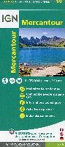 IGN Top75 10 Mercantour 1:75.000 toeristische wandelkaart