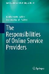 The Responsibilities of Online Service Providers | Mariarosaria Taddeo ; Luciano Floridi |