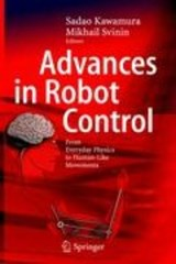 Advances in Robot Control | Sadao Kawamura ; Mikhail Svinin |