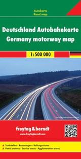 F&B Duitsland Autobahnkarte | auteur onbekend |