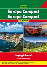 Europa Compact Wegenatlas F&B | auteur onbekend | 9783707915501