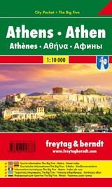 Athen, Stadtplan 1:10.000, City Pocket + The Big Five | auteur onbekend |