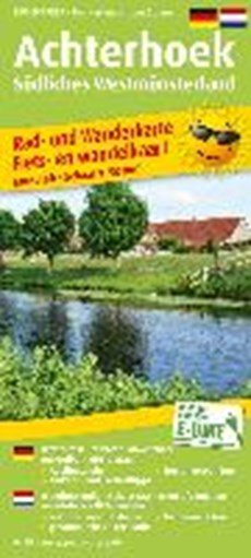 Achterhoek - Südliches Westmünsterland - fietskaart en wandelkaart 1:50.000