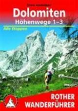 Dolomiten - Höhenwege 1-3 (wf) special Alle Etappen | auteur onbekend | 9783763331031