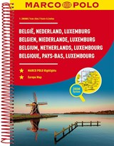 MARCO POLO Reiseatlas Benelux, Belgien, Niederlande, Luxemburg 1:200 000 | auteur onbekend |