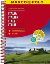 Italië Wegenatlas Marco Polo | auteur onbekend | 9783829736855