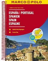 Spanje - Portugal Wegenatlas Marco Polo | auteur onbekend | 9783829736893