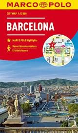 MARCO POLO Cityplan Barcelona 1:12 000 | auteur onbekend | 9783829741538