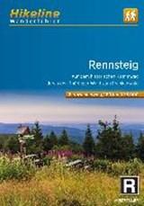 Rennsteig durch Thüringer Wald zum Frankenwald | auteur onbekend | 9783850007610