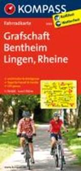 Kompass FK3034 Grafschaft Benthei, Lingen, Rheine | auteur onbekend | 9783850265638