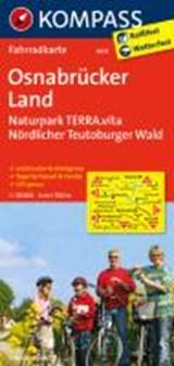 Kompass FK3035 Osnabrücker Land, Naturpark Terra Vita, Nördlicher Teutoburger Wald | auteur onbekend | 9783850265645