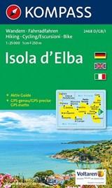 Kompass WK2468 Elba | auteur onbekend | 9783850266079