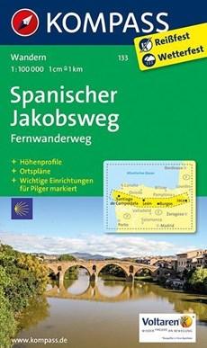 Kompass WK133 Spanischer Jakobsweg