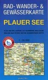 Rad-, Wander- und Gewässerkarte Plauer See | auteur onbekend |