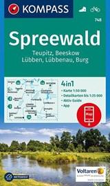 Kompass WK748 Spreewald, Teupitz, Beeskow, Lübben, Burg | auteur onbekend | 9783990443286