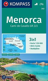 Kompass WK243 Menorca | auteur onbekend |