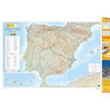 Caminos de Santiago en la Península Ibérica 1:1.25m overzichtskaart wandelkaart Camino's in Spanje - wandelen naar Santiago de Compostela | auteur onbekend | 9788441656307