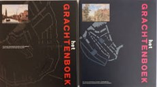 Grachtenboek set 2 dln in linnen cassette