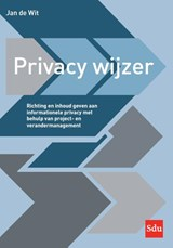 Privacy wijzer | Jan de Wit |