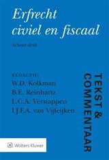 Erfrecht civiel en fiscaal | auteur onbekend | 9789013155945
