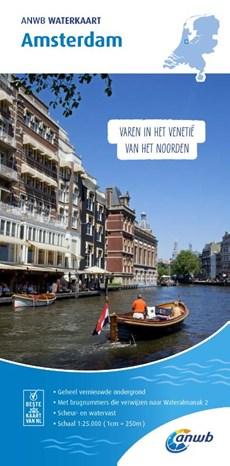 ANWB Waterkaart Amsterdam 1:25.000