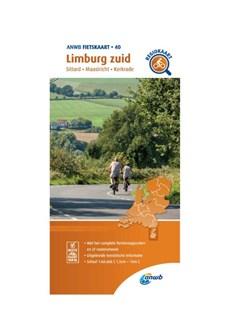 Fietskaart Limburg zuid 1:66.666