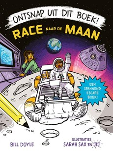 Ontsnap uit dit boek - Race naar de maan