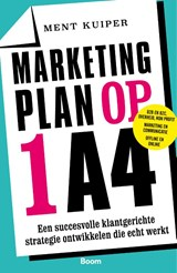 Marketingplan op 1 A4 | Ment Kuiper | 9789024426331