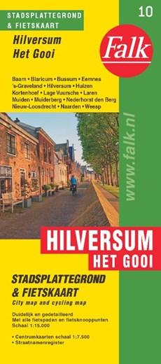 Falk stadsplattegrond & fietskaart Hilversum 't Gooi