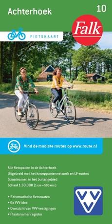 Falk VVV fietskaart 10 Achterhoek - fietskaart met fietsknooppunten