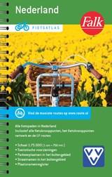 Fietsatlas Nederland 1:75.000 - Falk fietsgids met fietsroutenetwerk, knooppunten,  LF fietsroutes | auteur onbekend | 9789028703513