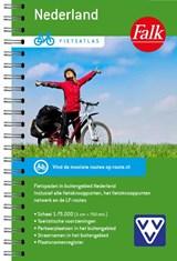 Falk VVV Fietsatlas Nederland - Overzicht van alle fietsknooppunten en LF fietsroutes in Nederland - fietsgids | auteur onbekend | 9789028703988