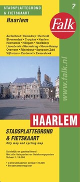Haarlem plattegrond | auteur onbekend | 9789028707870