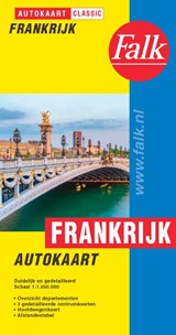 Falk autokaart Frankrijk classic | auteur onbekend | 9789028730434