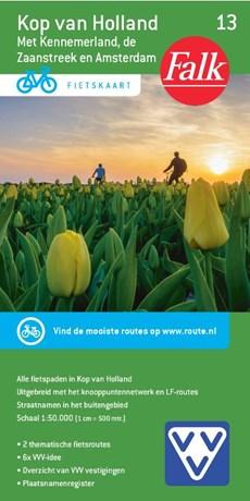 Falk VVV fietskaart 13 Kop van Holland 1:50.000 - fietsen Noord-Holland