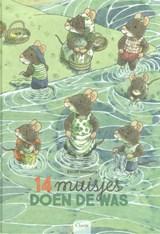 14 muisjes doen de was | Kazuo Iwamura | 9789044837971