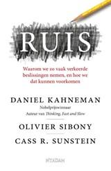 Ruis   Daniel Kahneman ; Olivier Sibony ; Cass R. Sunstein   9789046828465