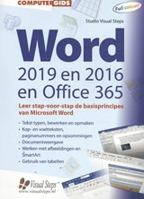 Computergids Word 2019, 2016 en Office 365 | Studio Visual Steps |